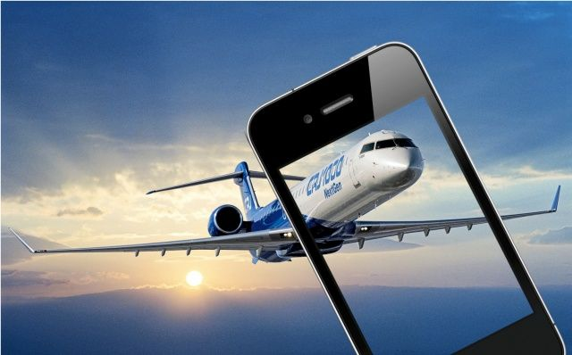 iPhone-plane