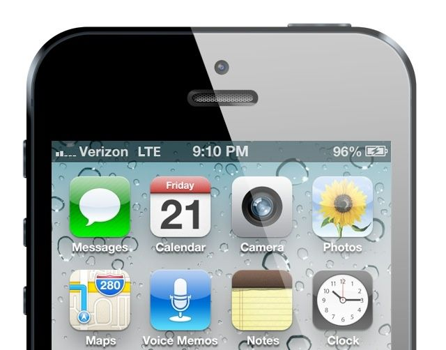 iphone screen capture verizon carrier update brings improved data speeds 12273
