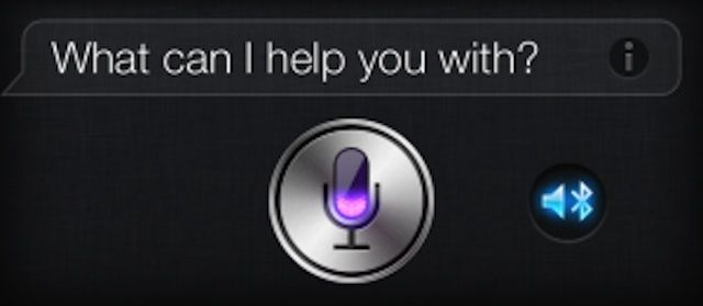 Hands-free car stereo Siri says HI.