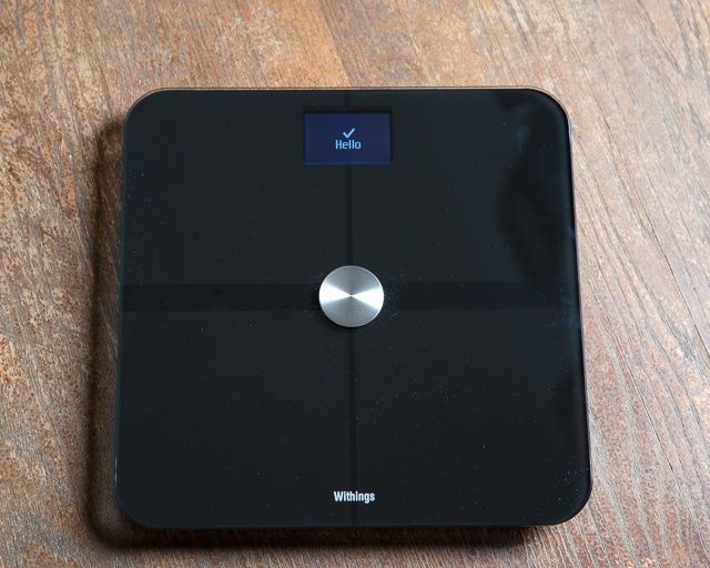 On your iPhone, iPad or Mac, Withings smart scale makes tracking your weight easy.
