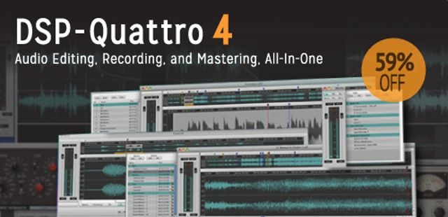 DSP-Quattro 4: The All-In-One Audio Mastering Software For