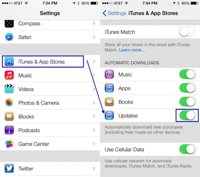 automatic app updates iphone six surprising tips amp tricks for ios 7 beta iphonphone 6941