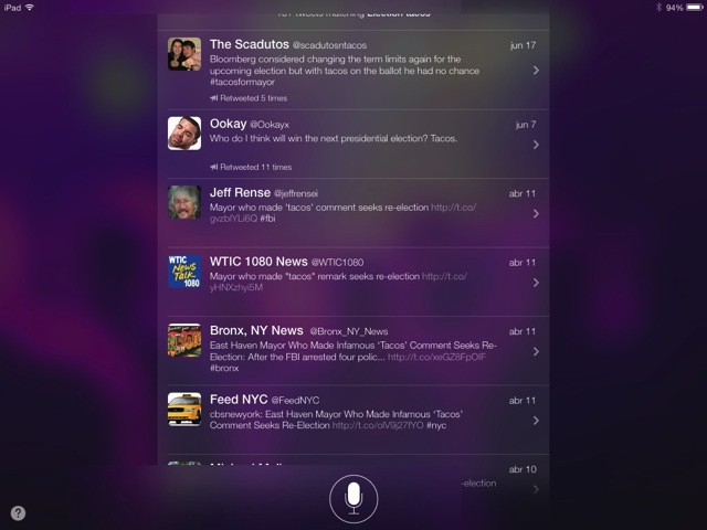 Siri Shows Web And Twitter Searches Right On The iPad Lock