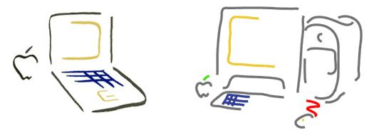 Picasso-iBook-and-PowerMac