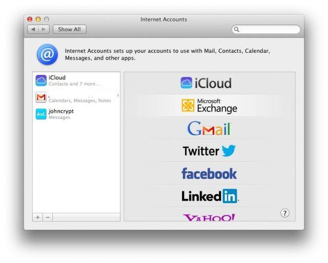 Ora avete il supporto nativo per i conti più di terze parti, come LinkedIn!