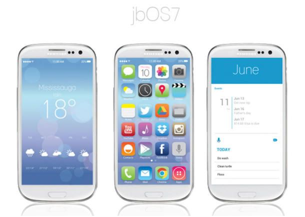 Make Your Android Device Look Like iOS 7 With This Jelly Bean Theme