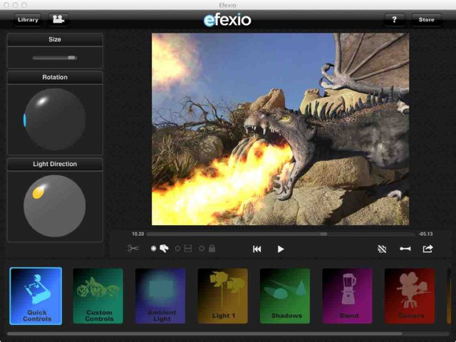 iPad Movie 3-D Effects App Now Has Models From VFX Legend