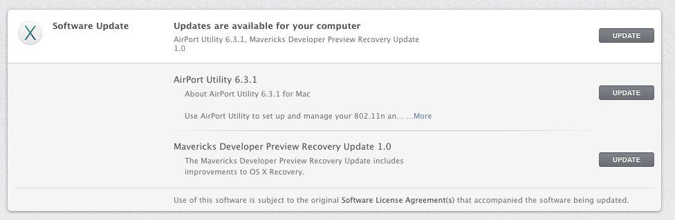 Airport Utility Mavericks Update