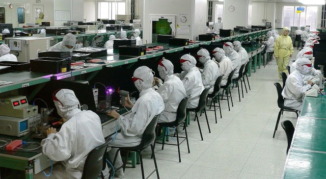 Make products in the United States  and sell them to China — Foxconn executive