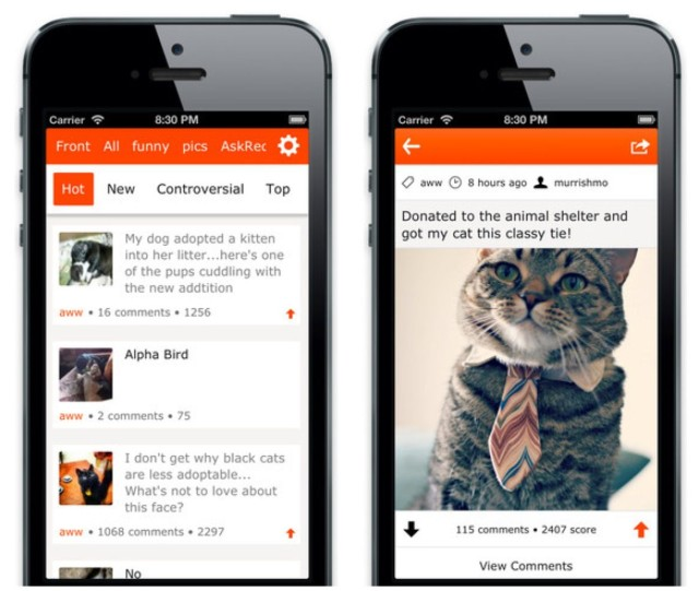 ruby is a nice new reddit app for the iphone and ipad cult of mac