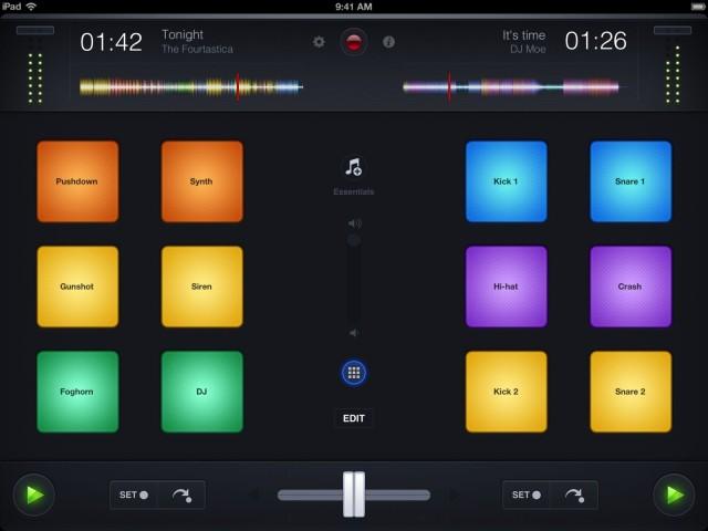 djay iPad 3