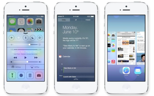 iOS 7 Official Apple