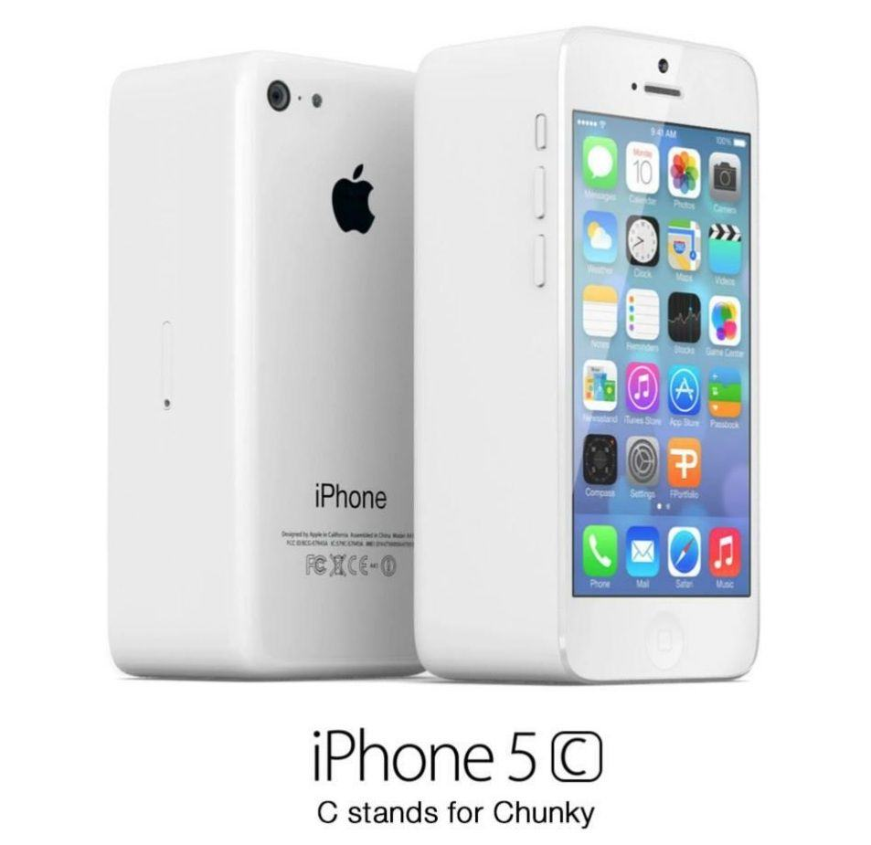 what the 39 iphone 5c 39 will really look like humor cult of mac. Black Bedroom Furniture Sets. Home Design Ideas