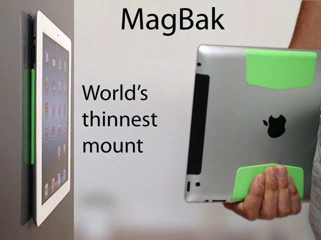 Magbak Sticks Your Ipad To Your Fridge Your Hands Your