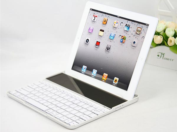 Solar Powered Bluetooth Keyboard Case For Ipad Cult Of Mac