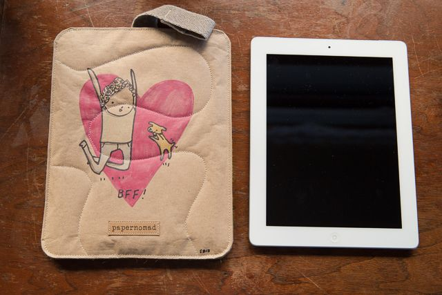 Zattere iPad Sleeve from Papernomad / Art of me & my pup from @skylaarsays