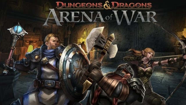 Free To Play Dungeons & Dragons: Arena Of War Coming Soon To