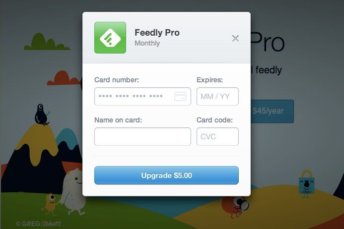 Feedly Pro Monthly