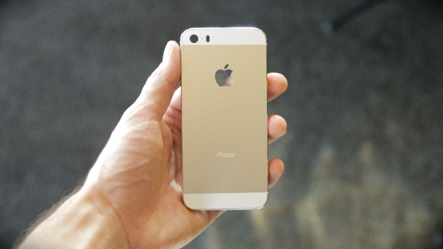 Gold Champagne iPhone 5S from TLDToday