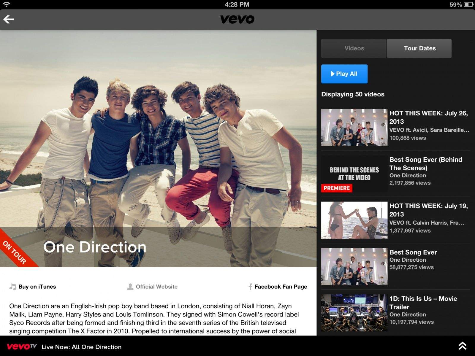 Ready to get your One Direction fix on the Apple TV?
