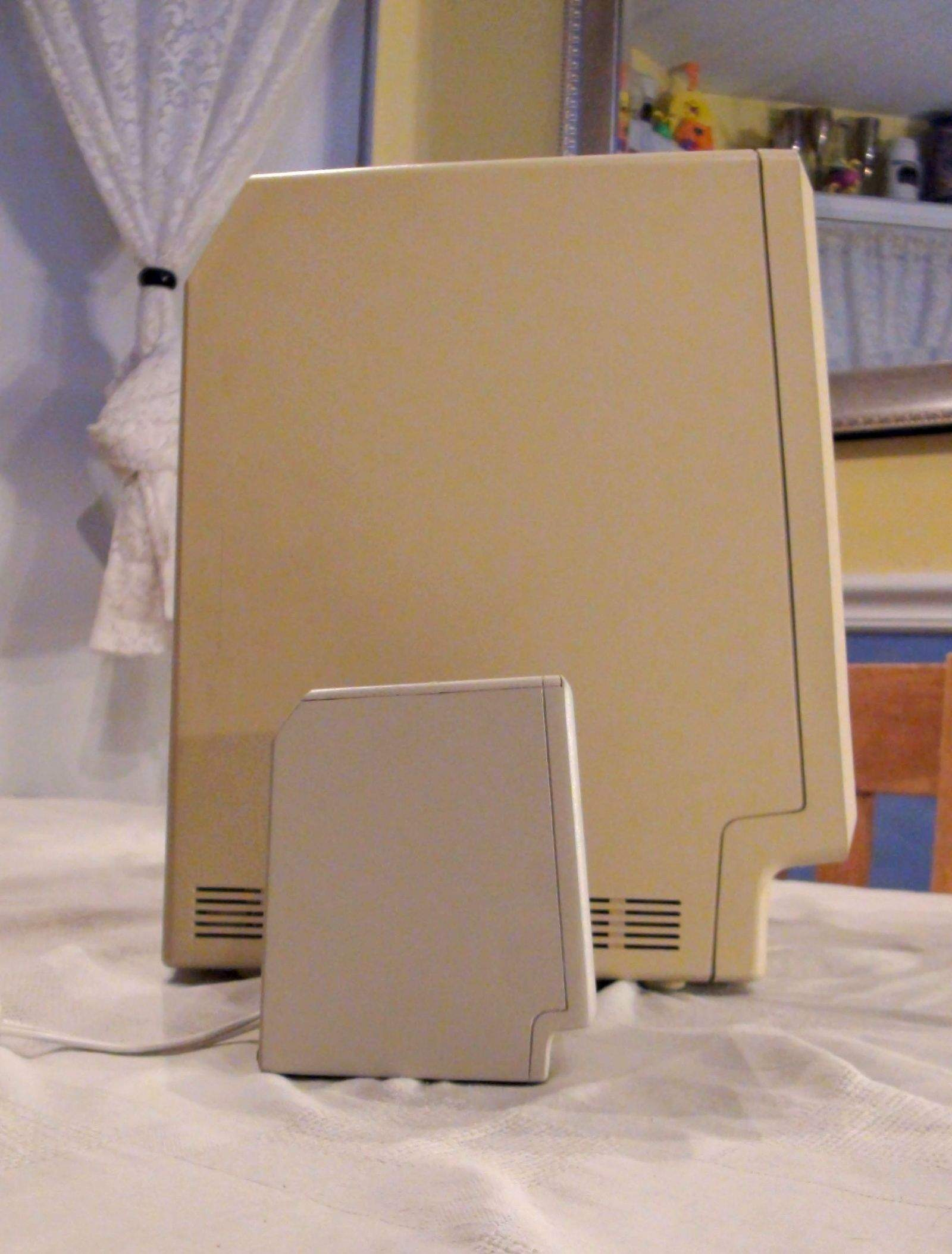 Profile View of Mini Mac