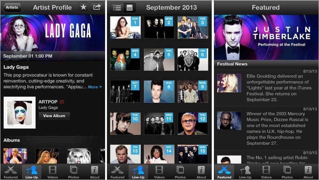 iTunes-Festival-app