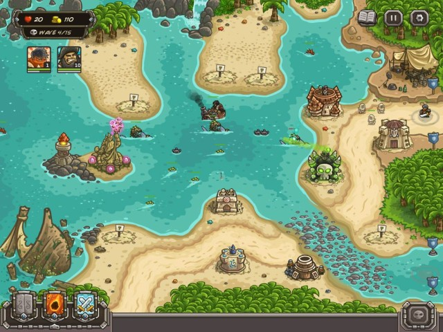 Tower Defense Sequel, 'Kingdom Rush: Frontiers,' Gets Rising Tides