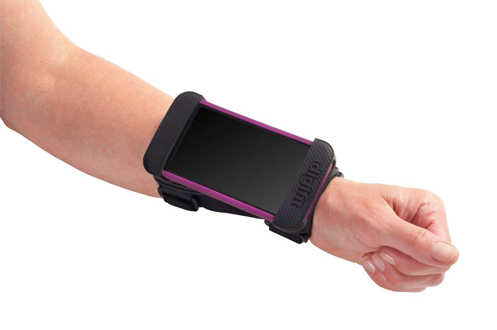 iphone wrist strap the saddle lets you mount an iphone onto your wrist cult 12506