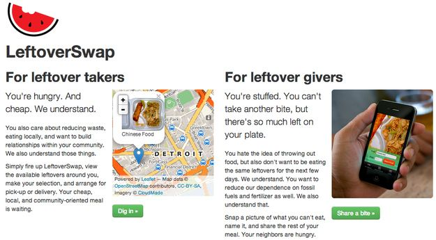 LeftoverSwap Is The Dream App Hobos And Moochers Have Been