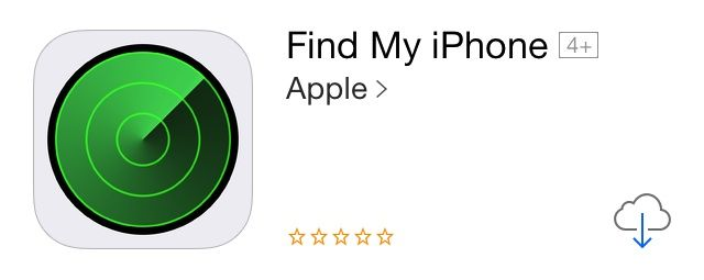 find my iphone app find my iphone icon gets updated for ios 7 breaks app for 14087