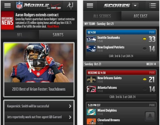 The Only Five Apps You Need to Watch Football This Fall ...