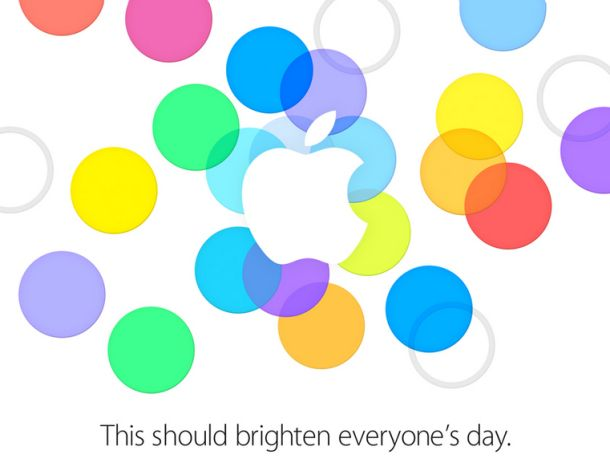 Apple Sept 10 invite