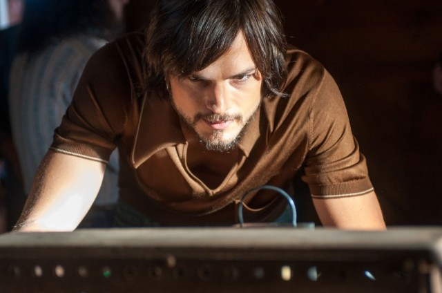 Ashton Kutcher brings some real ferocity to the role of Steve Jobs.
