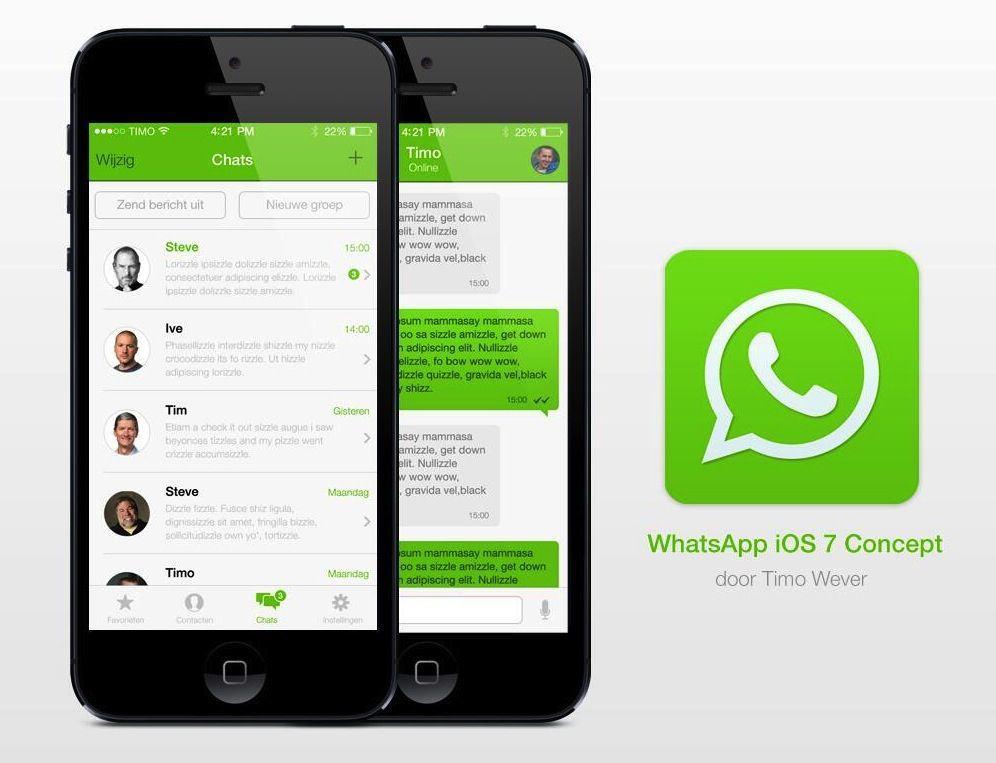WhatsApp-iOS-7-concept