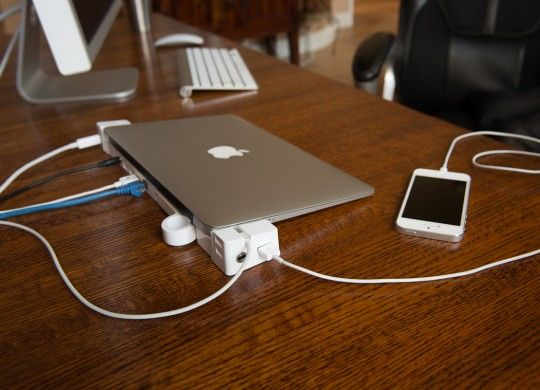 Landing Zone Dock Turns A Macbook Air Into A Mini Mac Pro