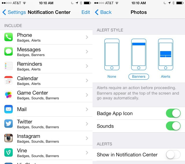De-Clutter Your Lock Screen's Notifications In iOS 7 [iOS Tips