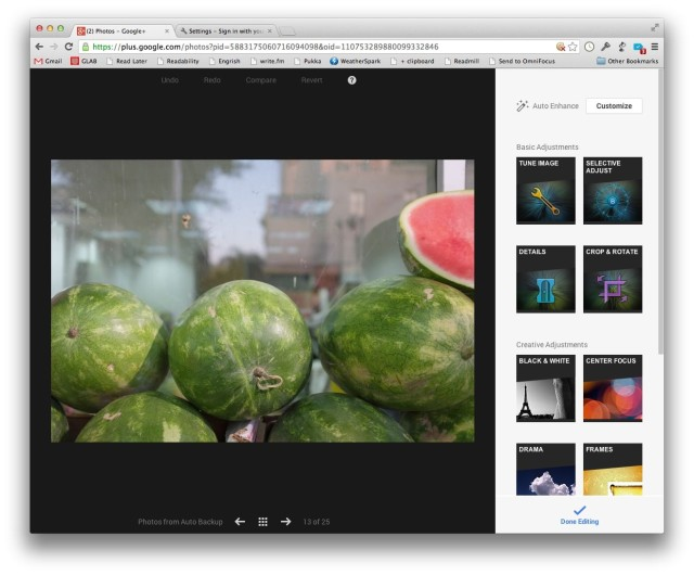 Snapseed -- in the browser!