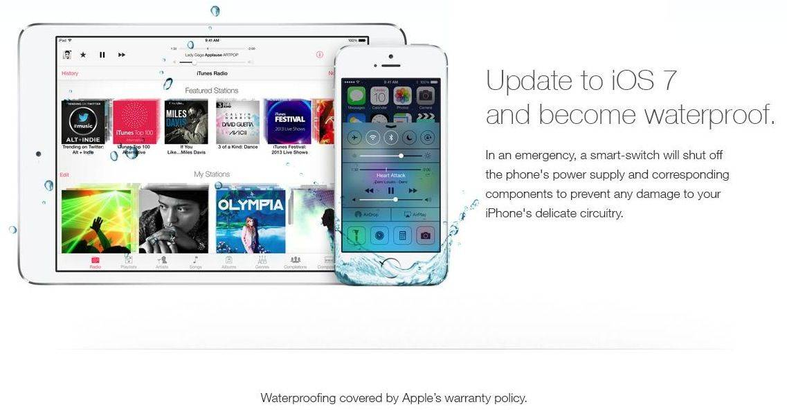 Owners Fooled By Fake Apple Ad That Claims iOS 7 Will Make iPhones