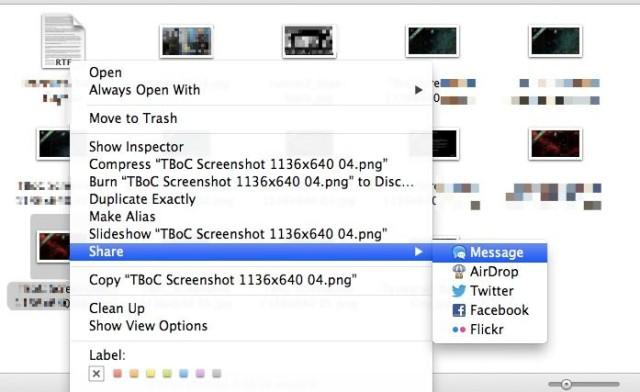Share Files via iMessage
