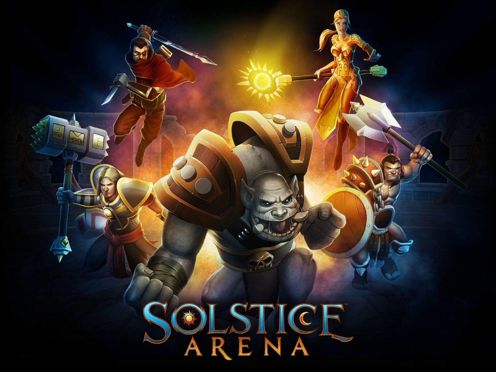 Solstice Arena Splash Art