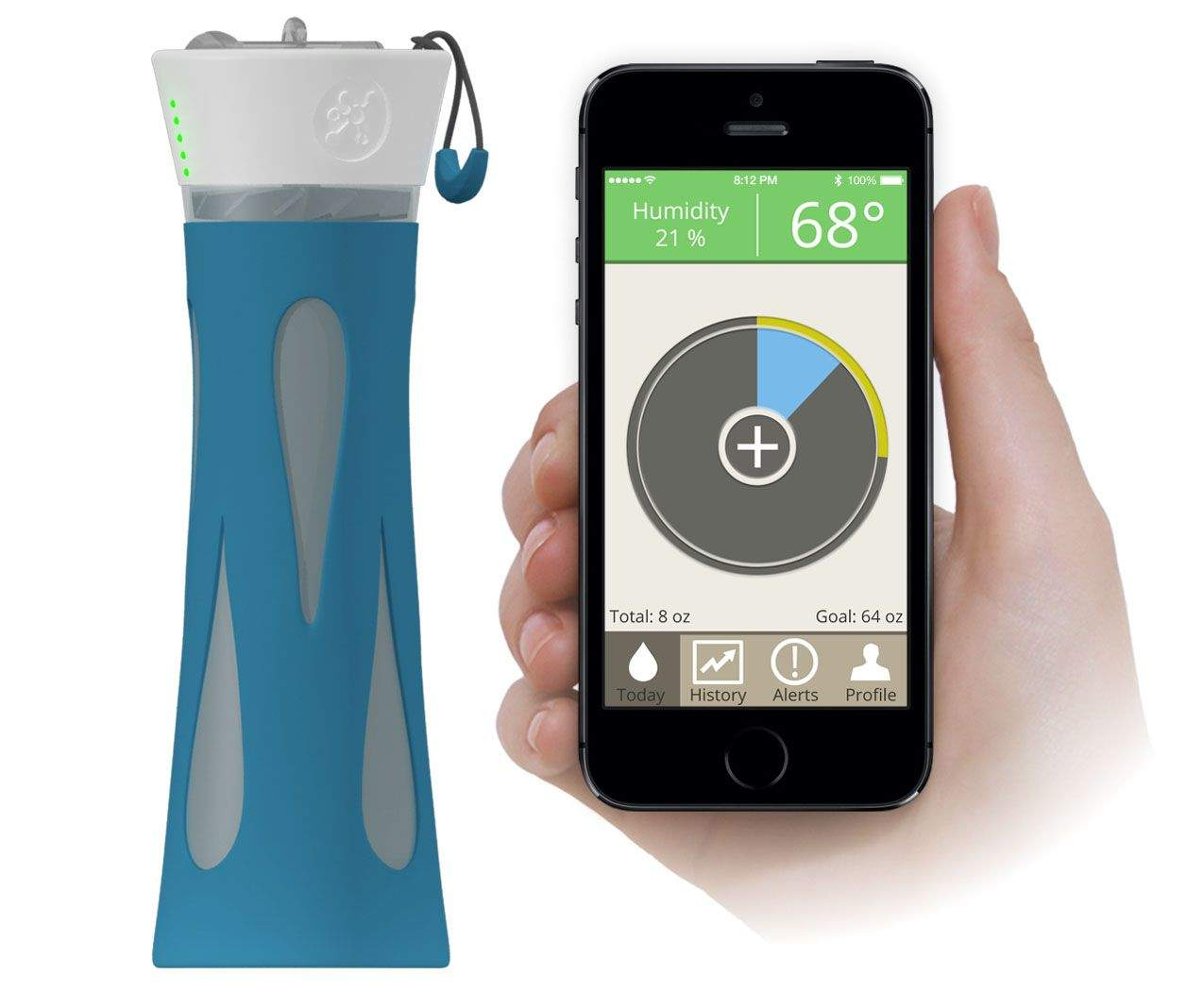 Bluetooth Water Bottle To Drink Water