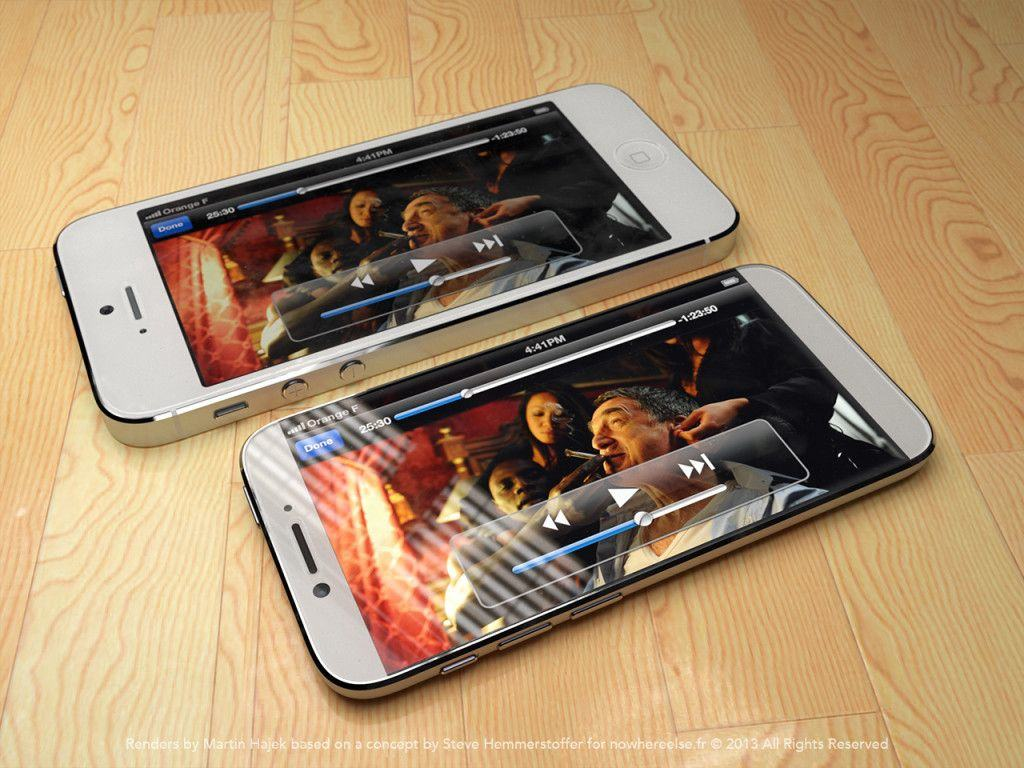 How a larger iPhone 6 might look by Martin Hajek.