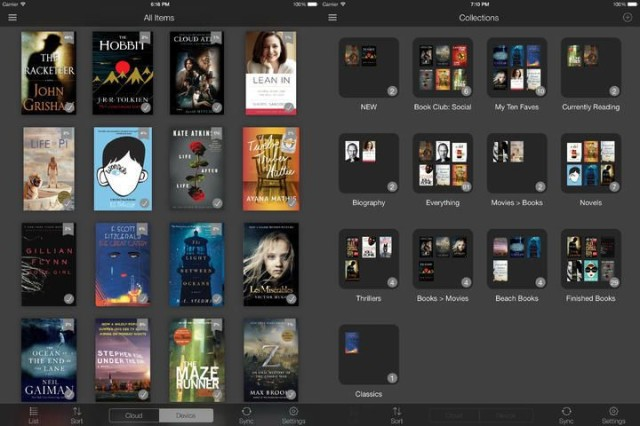 Kindle For iOS7 Is The Best Kindle App Yet | Cult of Mac