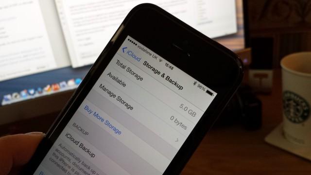 iCloud-storage
