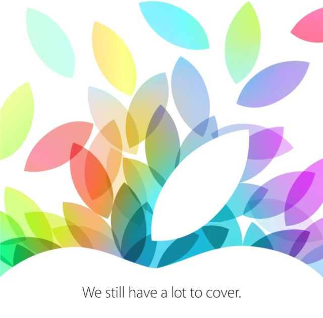 Apple Oct 22 media invite