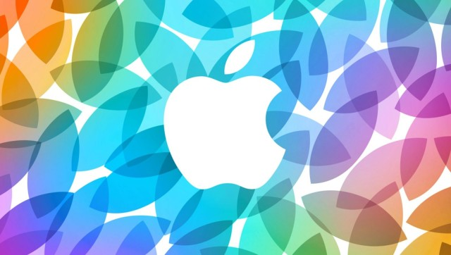 Apple logo colors