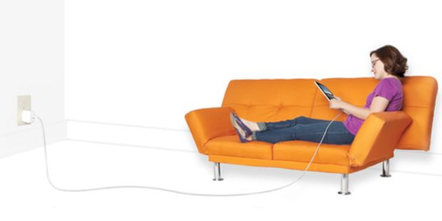 quality design 8348b 5cef5 Be Where You Want While You Recharge With The 10 Foot Charging Cable ...