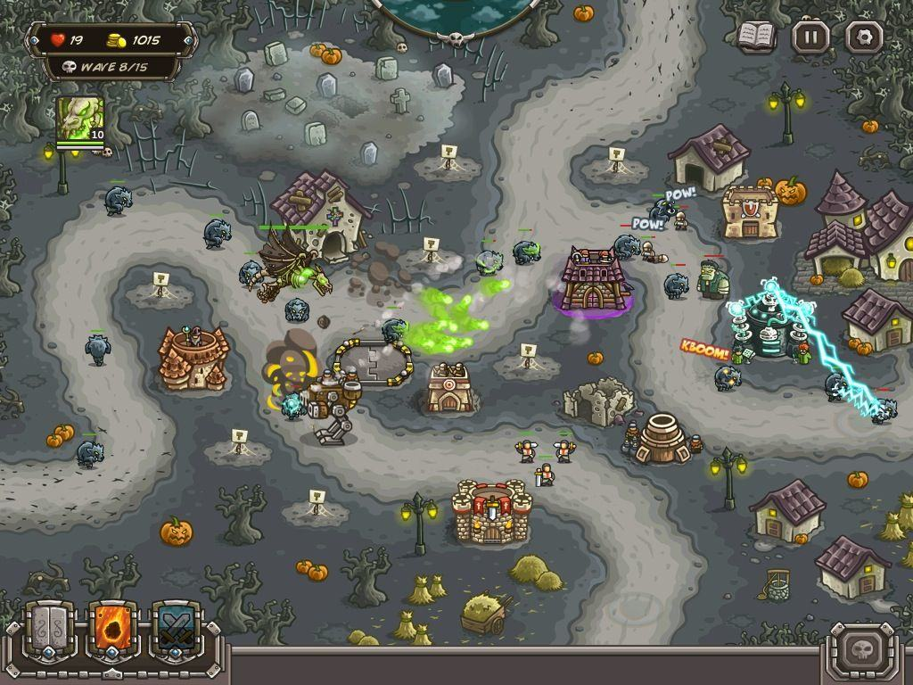 Kingdom Rush Frontiers Lurches Your Way With Halloween