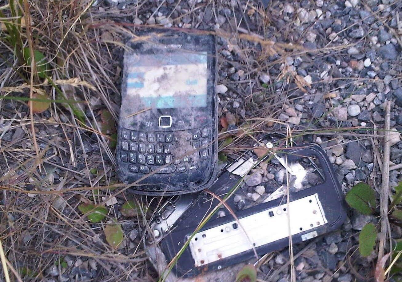 Smashed-BlackBerry
