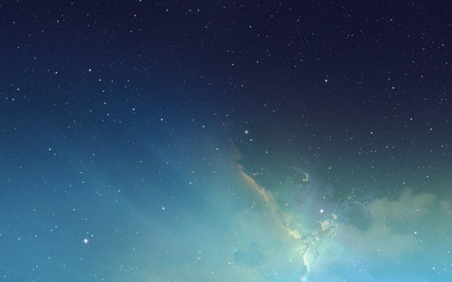 Get iOS 7's Gorgeous Nebula Wallpaper For Your Mac